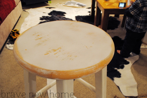 bar_stool_makeover_sanding