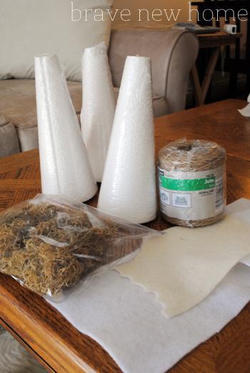 christmas_home_tour_styrofoam_tree_materials