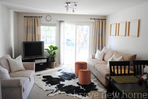 living_room_makeover_rust_ottoman