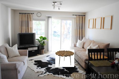 living_room_makeover_teak_wood