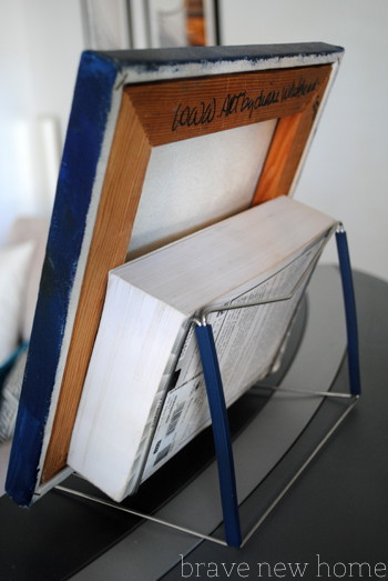 book stand to prop art