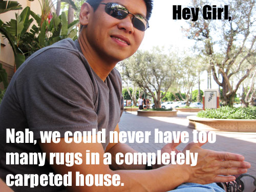 hey girl meme rugs on carpet