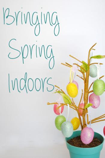 bringing spring indoors
