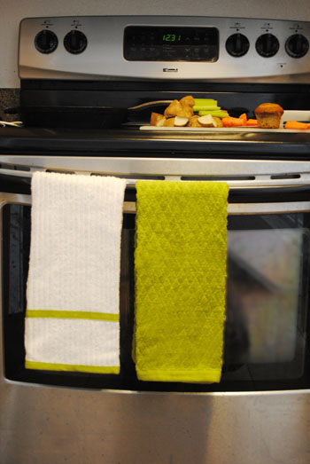 cheerful and bright dish towels
