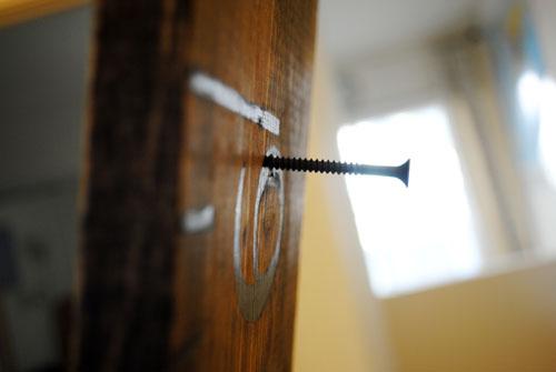 nail in diy growth ruler