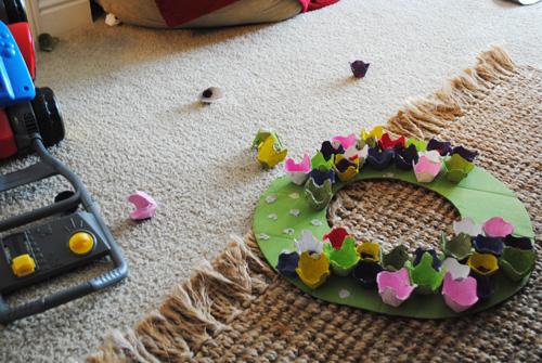 wreath mishap