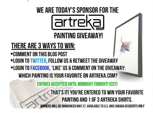 Artreka Giveaway