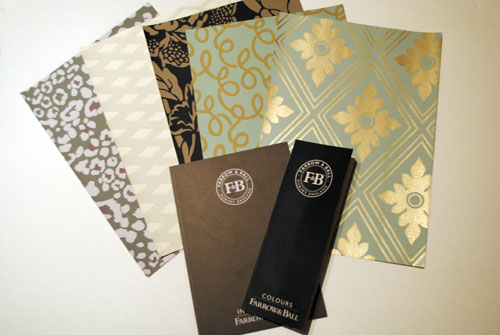 free farrow and ballinspiration and color guide and wallpaper samples