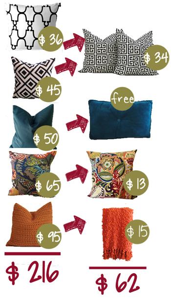 comparable pillows