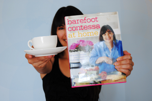 tea cup jennifer and ina garten cook book